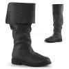 ROBINHOOD-100 Black Faux Leather